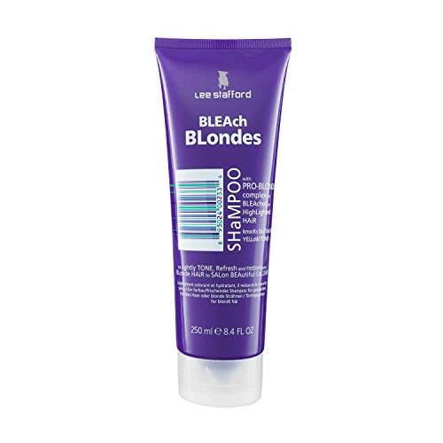 Lee Stafford Bleach Blondes Toning Shampoo, 250ml