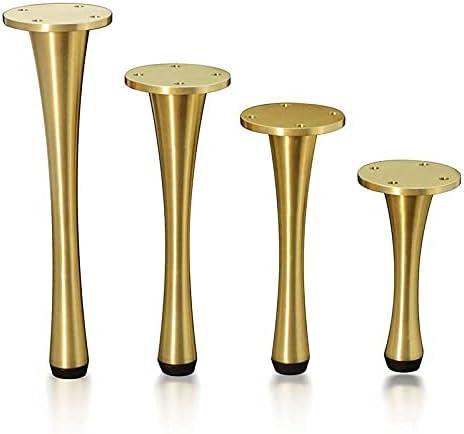 ZHANGW Set of Ranking TOP11 4 Furniture Waist Super sale period limited Legs Metal Small Feet
