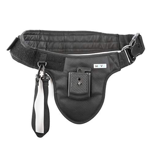 Movo MB800 Waist Camera Holster with Quick Release for DSLR and Mirrorless Cameras