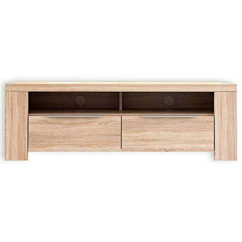 ROLLER TV-Lowboard - Sonoma Eiche - 124 cm breit