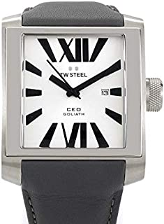 TW Steel Watch for Men, Leather, CE3002