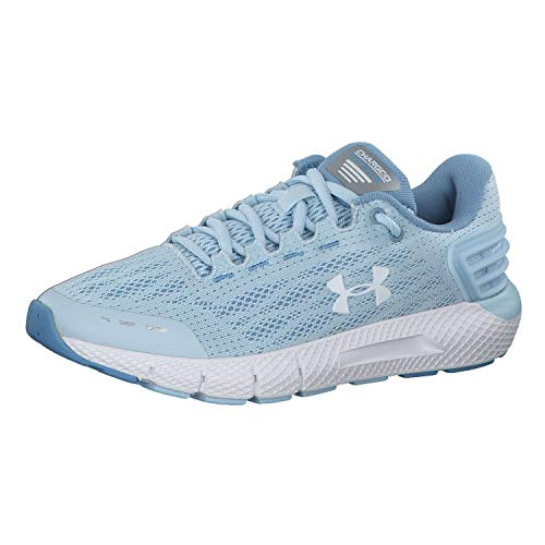 Under Armour Women's Charged Rogue Running Shoe, Coded Blue (300)/Boho Blue, 5
