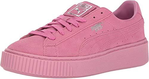 PUMA Basket Platform Explosive Damen Sneaker (363627), - Prism Pink Prism Pink - Größe: 35.5 EU