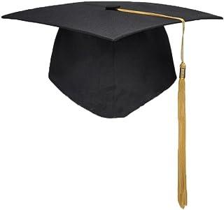 KAIMENG 2018 Graduation Cap, für High School Bachelor, Undergraduate, Doktorand, Doktorand und Master, Unisex (Kupfer Quaste)