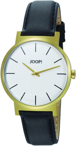Joop! Herren Analog Quarz Uhr mit Leder Armband JP100841F04U