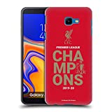 Official Liverpool Football Club Red Typography 2020