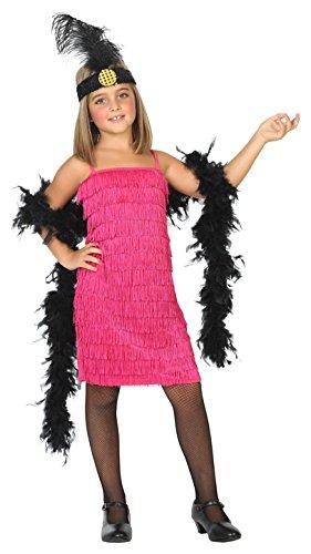 Atosa-39389 Disfraz Charleston, Color Rosa, 10 A 12 Años (39389)