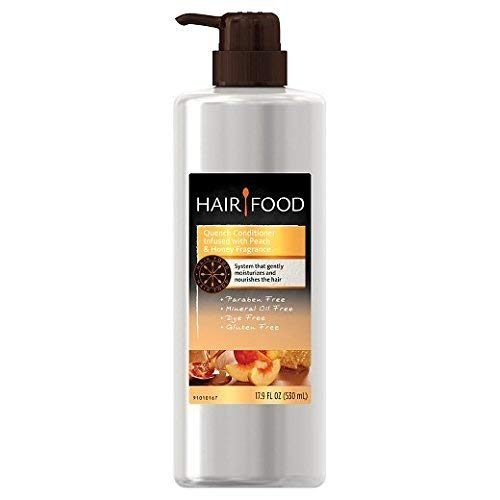 Hair Food Gluten Free Quench Ranking TOP20 Peach High material Honey and Conditioner 17.9oz