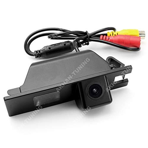 CAM24 - Colore telecamera di retrovisione con linee di griglia come luce targa, sensore di parcheggio per Opel Vectra C, Astra H, Corsa D, Meriva A, Zafira B