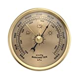XLTWKK 70mm analógico montado en la pared del hogar termómetro higrómetro barómetro barómetro barómetro barómetro barómetro hogar