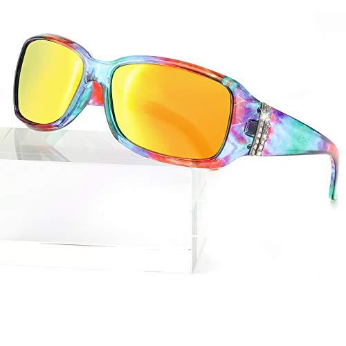 Enafad Women's Sunglasses, HD Polarized Sports Classic Ladies Sunglasses, Fashion Adults Sun Glasses Anti Glare