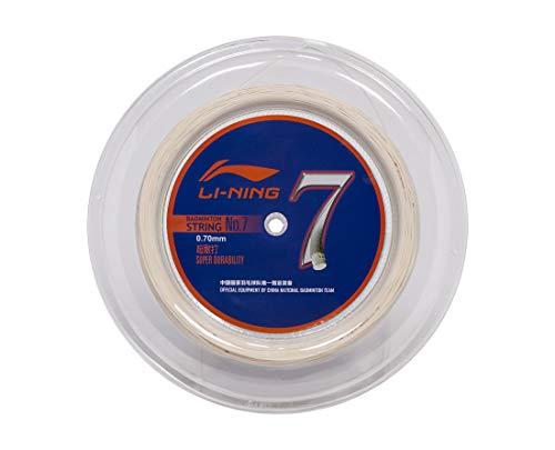 LI-NING Badminton-Saite Nr. 7, Weiß