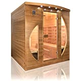 Sauna Infrarrojos Spectra 4 Plazas Poolstar SN-SPECTRA05R