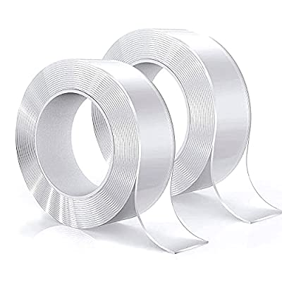RIKMSS Double Sided Tape Heavy Duty, 2 Pack Tot...