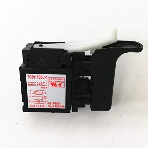 MQEIANG Interruptor 335796 para Hitachi DH24PB3 DH24PC3 DH24PD3 DH22PH DH22PG Hammer ROTARIO