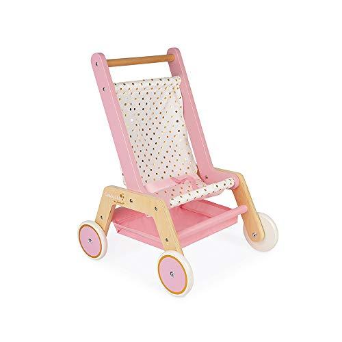 Janod J05890 Candy Chic Kinderwagen