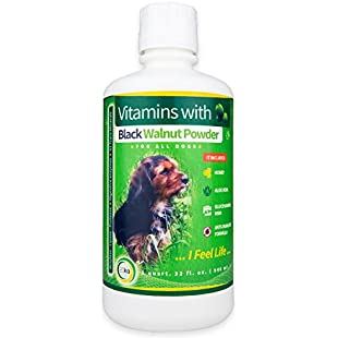 Dog Liquid Vitamins Dietary Supplements Multivitamins Natural Health Cleanse Parasite | USA 946ml