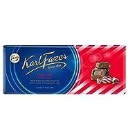 Fazer Karl Fazer ファッツェル カールファッツエル ペパーミント キシリトール チョコレート 22 枚 x 200gセット フィンランドのチョコレートです [並行輸入品]