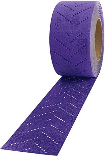 3M 3M-34450 70 mm x 12 m Cubitron II Hookit Clean Sanding Sheet Roll44; 400 Plus Grade - 5 Rolls per Case