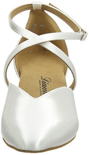 Diamant Brautschuhe Standard Tanzschuhe 107-013-092, Damen Tanzschuhe – Standard & Latein, Weiß (Weiß), 44 EU (9.5 Damen UK) - 4