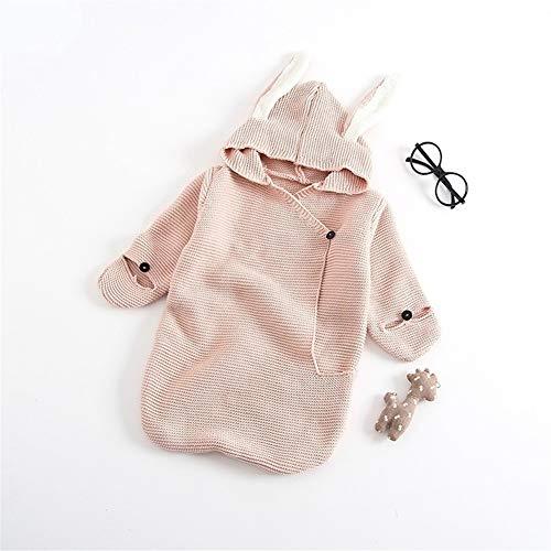 ASDFGH kinderwagen baby slaapzak winter warme peuter baby verpakt pasgeboren konijn breien envelop