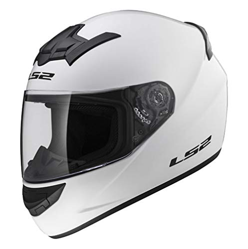 LS2 FF352 Rookie motor integraalhelm stad goud ACU wit snelsluiting vizier en bivakmuts XL (61 to 62 CM) Regulable