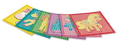 PlayMais 160198 - Card Set Mosaic Dream Pony, Bastelset