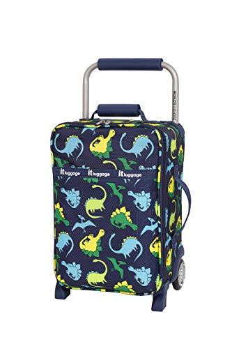it luggage Kids' World's Lightest, Dino Navy Repeat Print, 1 Piece