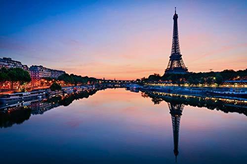Jochen Schweizer Geschenkgutschein: Städtetrip Paris mit nächtlicher Bootsfahrt für 2 (2 Tage)