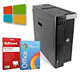 Dell Precision T3600 Tower | Intel Xeon-E5-1620@ 3,6GHz | 8GB | 500GB HDD | DVD-ROM | Nvidia Quadro FX 1800 Grafikkarte | Windows 10 Pro | BullGuard | SoftMaker Office (Generalüberholt)