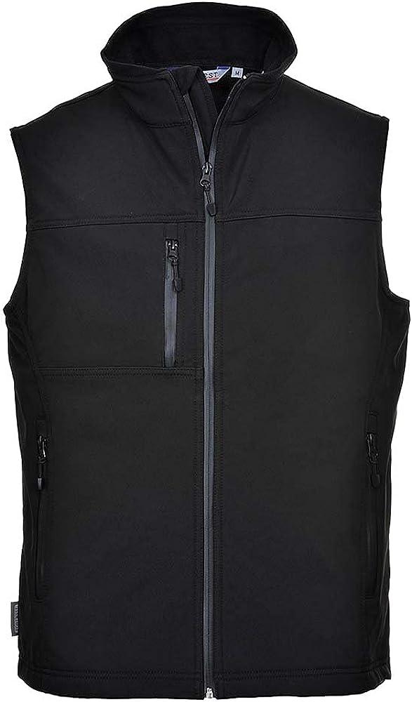 Portwest Workwear Mens Softshell Bodywarmer