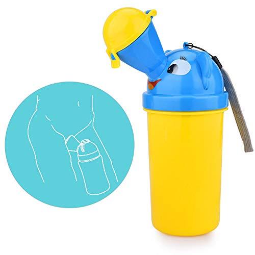 Baby Kinder t/öpfchen Junge tragbares Pipi Pissoir Flaschen Toiletten Notaufnahme Toilette f/ür Camping Reise Fahren im Freien