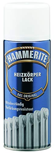 AKZO NOBEL (DIY HAMMERITE) Heizkörper-Lack Glänzend Weiß 0,400 L, 5087672 Farbe: Weiß glänzend