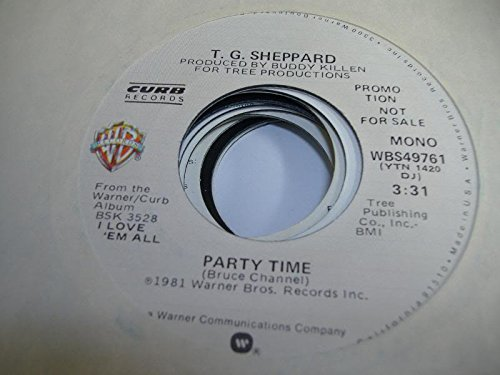 T. G. SHEPPARD 45 RPM Party Time / SAME