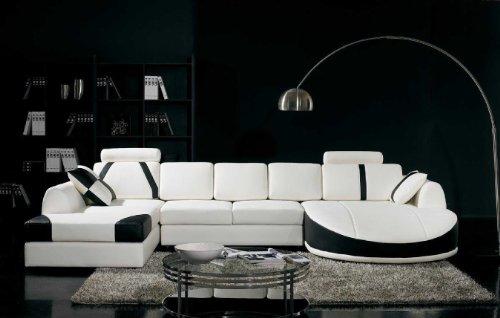 Vig Furniture T11B Ultra Modern Sectional Sofa