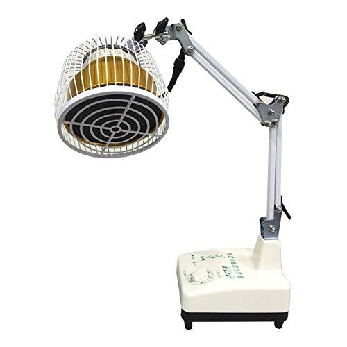 DeskTop Infraroodlamp, 250 W, groot licht, minerale lichttherapie, massageapparaat voor nek, rug, artritis gewrichten, rug, muziek, pijnverlichting, verbetering van de doorbloeding.