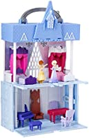 Disney Frozen Pop Adventures Arendelle Castle Playset With Handle, Including Elsa Doll, Anna Doll, and 7 Accessories -...