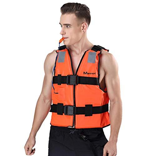 Chaleco Salvavidas, Chaleco de Nadada, Ayuda a la Flotación, Ajustable Unisex Chaleco de Flotación Inflable Portátil Adulto para Navegación Pesca Surf