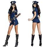 Femmes Costume Sexy Officier De Police Uniforme Cosplay Lingerie Cop Tenues, Cop Adult Sized Costumes, Vêtements De Sexe Femmes Femmes Sexy Costume De Police Femme Flic Policier Policier Uniforme