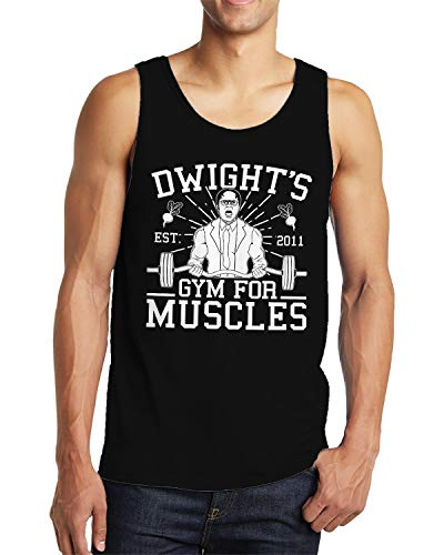 Dwight's Gym for Muscles Men's Tank Top