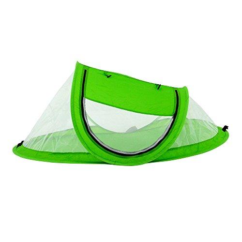 mtef tragbar Baby Strand Zelt Pop Up Bett leicht Reise Kinderbett Hundebett Outdoor Rucksackreisen Zelt, Sun Shelter Moskitonetz für Infant