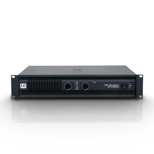 LD Systems Deep² Series 2x 1200W 2Ohm PA Power Amplifier/Verstärker