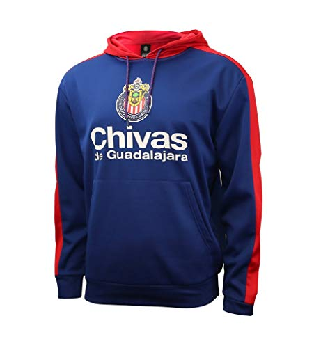 Icon Sports Group Chivas De Guadalajara Jersey oficial de fútbol sudadera con capucha 002