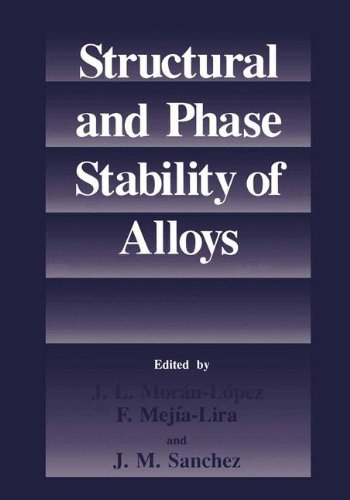 Structural and Phase Stability of Alloysの詳細を見る