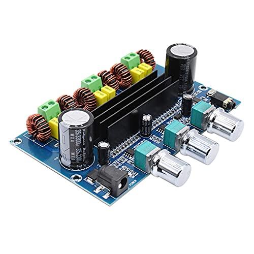 YWSZJ Bluetooth 5.0 Tpa3116d2 Scheda dell'amplificatore di Potenza Digitale 2.1 2 * 50w + 100w Amplificatore subwoofer per Bassi Audio di Potenza Stereo Classe D