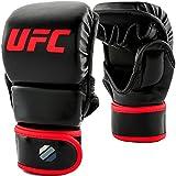 UFC 8oz MMA Sparring Gloves - L/XL - MMA Gloves, Black, Large/X-Large