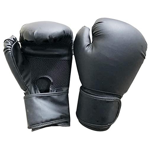 HAPPY-HAT Boxeo Guantes,Palma ventilación Diseño Uantes con, Cuero Sintético Larga Durabilidad Antideslizante Suministros De Boxeo Usado para Deporte Boxeo Entrenamiento Combate Libr