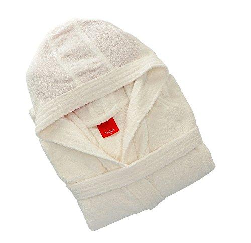 Gabel 09300 10 Accappatoio Adulto, 100% Cotone, Bianco, Taglia L