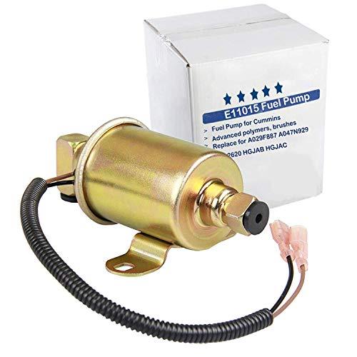 E11015 Electric Fuel Pump Replace for Cummins A029F887 A047N929 149-2620 HGJAB HGJAC Airtex E11015 GMB 596-1160 Herko RV008, For Onan 5500 5.5KW Gas Generator Marquis Gold Rialta RV 5500 EVAP Motor S