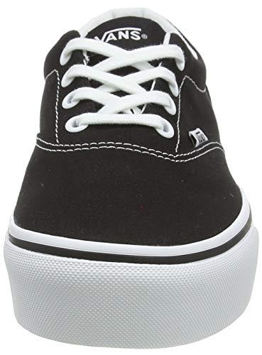 Vans Doheny Platform, Sneaker Donna, Nero ((Canvas) Black/White 187), 37 EU